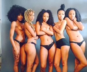 black, black beauties, and black girls rock image