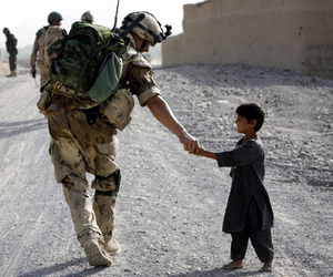 soldier, war, and kids image
