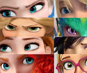 anna, coraline, and tangled image