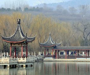 beautiful, park, and chinese place image