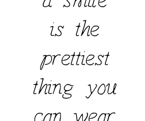 pretty, quote, and smile image