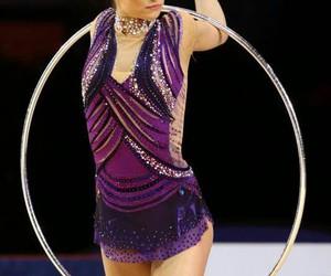 hoop, sport, and rhytmic gymnastic image
