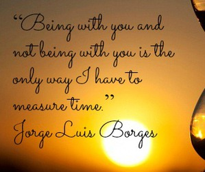 borges, quotes, and time image