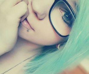 alt girl, grunge, and colorfull hair image