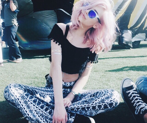 coachella, hipster, and indie image