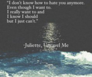 books, juliette, and quotes image