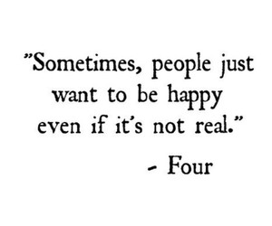 four, divergent, and quote image
