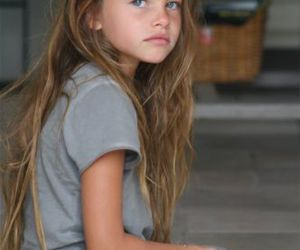 hair, kids, and model image