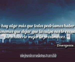 divergente, frases, and book image
