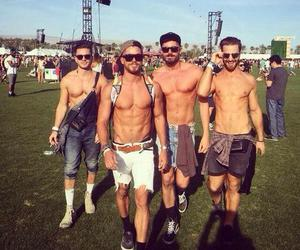 boys, coachella, and Hot image