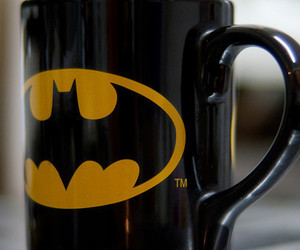 batman, cup, and mug image