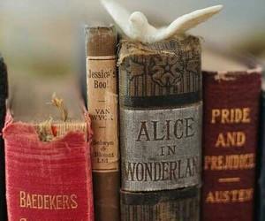 book, alice in wonderland, and vintage image
