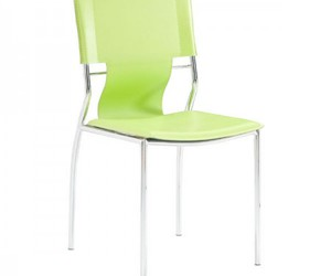 green chair and dining chair image