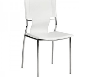white chair and dining chair image