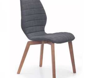 dining chair and chair graphite fabric image