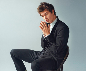 ansel elgort, handsome, and tfios image