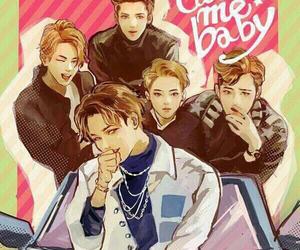 exo, kai, and call me baby image