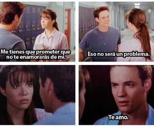 love, A Walk to Remember, and movie image