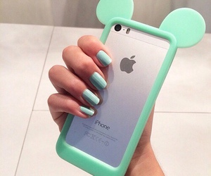 iphone, phone case, and green image