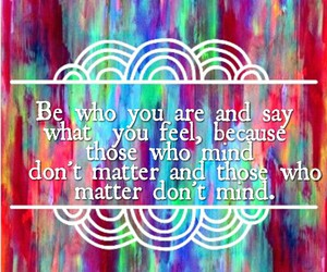 be yourself, english, and inspiration image