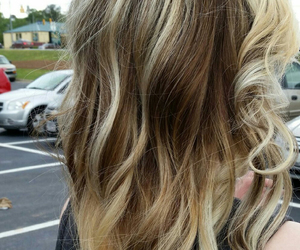 blonde, blonde hair, and curly image