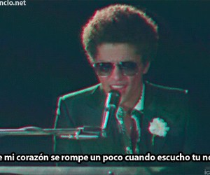 bruno mars, when i was your man, and song image