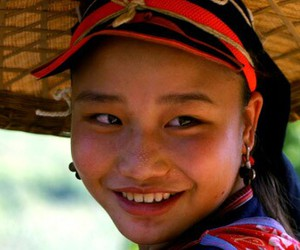 beautiful, smile, and Vietnam image