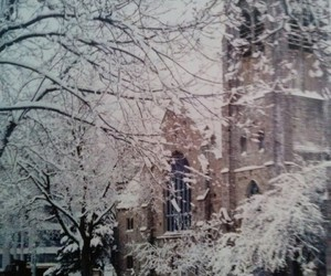canada, church, and cold image