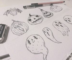 drawing and ghost image