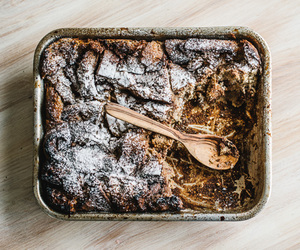 chocolate, nutella, and bread pudding image