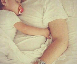 baby, beautiful, and cuddle image