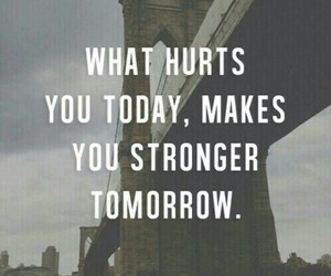 strong, quotes, and hurt image