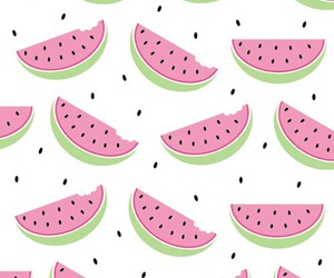 wallpaper, watermelon, and pink image