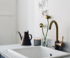 brass, eat, and interior image