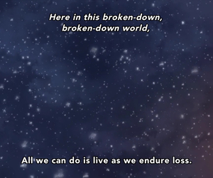 anime, ashes, and quote image