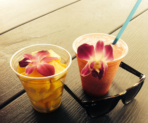 flower, FRUiTS, and hawaii image
