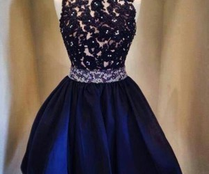 dress, black, and blue image
