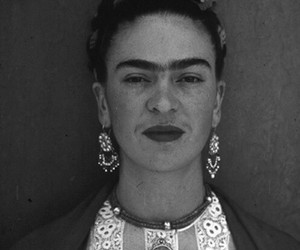 frida kahlo, artist, and woman image