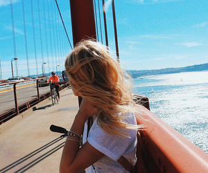 blondie, golden gate bridge, and the usa image