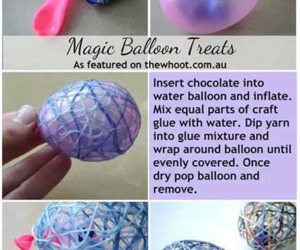 diy, balloons, and easter image