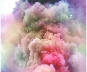 colores, nubes, and hipster image