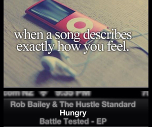 hungry, song, and music image