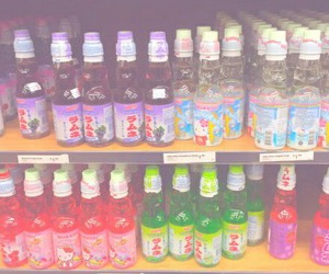 ramune and japan food image