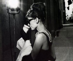 actress, audrey hepburn, and Breakfast at Tiffany's image
