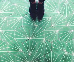 floor and pattern image