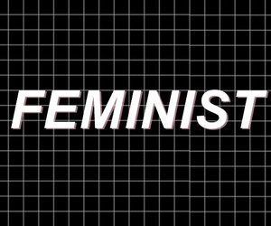feminism, feminist, and header image
