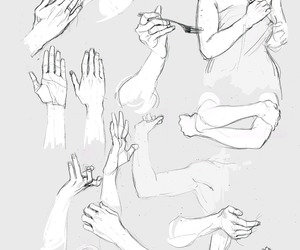 hands and art reference image