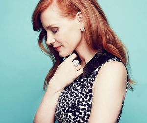 jessica chastain, beautiful, and ginger image