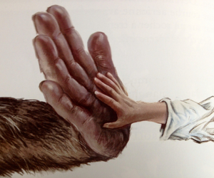doudou, hands, and lena image