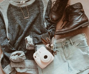 camera, indie, and fashion image